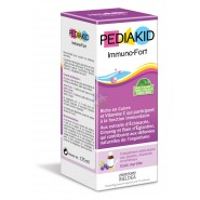 Pediakid Immuno-Fort Sirop Goût Myrtille 125 ml