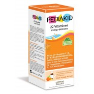 Pediakid 22 Vitamines et oligo-éléments Goût Orange Abricot 125 ml