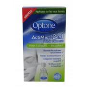 Optone Actimist 2en1 Spray Oculaire Yeux Fatigués et Inconfort 10 ml