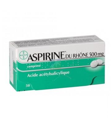 Aspirine du Rhône 500 mg x 50