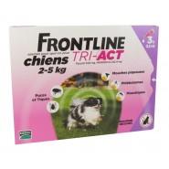 Frontline Tri-Act Chiens 2-5 kg x 3