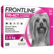 Frontline Tri-Act Chiens 5-10 kg x 6