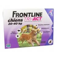 Frontline Tri-Act Chiens 20-40 kg x 3