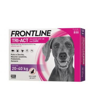 Frontline Tri-Act Chiens 20-40 kg x 6