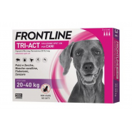 Frontline Tri-Act Chiens 20-40 kg x 6