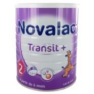 Novalac Transit+ 2ème âge 800 g