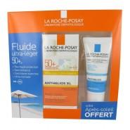 La Roche-Posay Anthelios Fluide Ultra-Léger SPF50+ 50 ml + Gel Posthelios 40 ml Offert