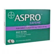 Aspro Caféine comprimé sécable x 20
