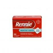 Rennie Menthe Verte Sans Sucre x 96