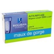 Alfa-Amylase Biogaran comprimés x 18