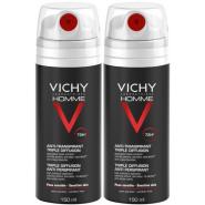 Vichy Homme Déodorant Anti-Transpirant Triple Diffusion 2 x 150 ml