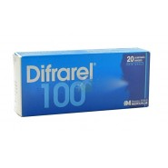 Difrarel 100 mg x 20