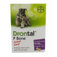 Drontal Arôme Boeuf Comprimés Sécables Pour Chien x 4