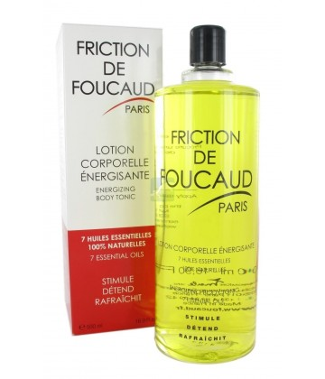 Friction de Foucaud Lotion Corporelle Energisante 500 ml