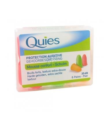 Quies Protection Auditive Mousse Confort x6 Paires