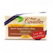 Rogé Cavaillès Savon Surgras Extra Doux Amande Verte 2 x 250 g