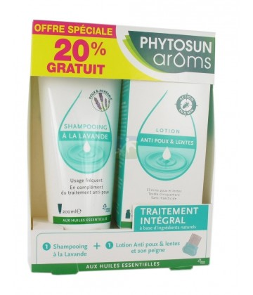 Phytosun Aroms Kit Traitement Intégral Anti-Poux
