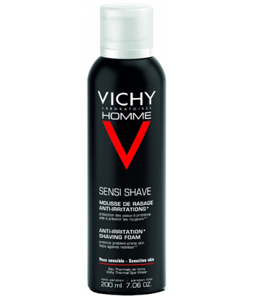 Vichy Homme Mousse à Raser Anti-irritations 200 ml