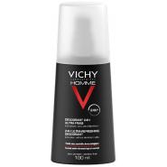 Vichy Homme Déodorant Ultra-frais 100 ml