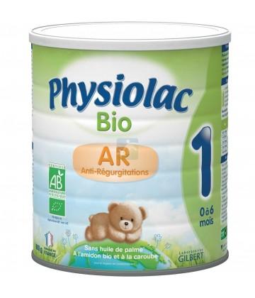 Physiolac Bio AR lait en poudre 0-6 mois 800g