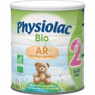 Physiolac Bio AR 2 ème Age 800 g