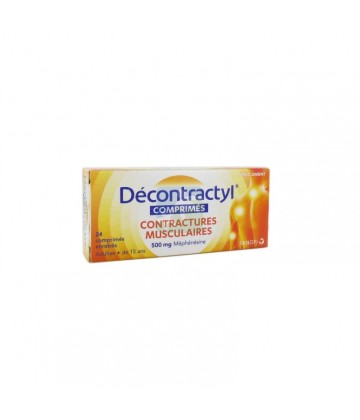 Décontractyl 500 mg x 24
