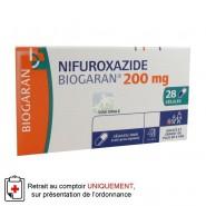 Nifuroxazide 200 mg Gélules x 28