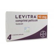 Levitra 10 mg Comprimés pelliculés x 4