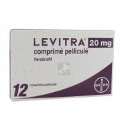 Levitra 20 mg Comprimés pelliculés x 12
