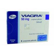 Viagra 50 mg Comprimés pelliculés x 8