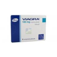Viagra 100 mg Comprimés pelliculés x 8