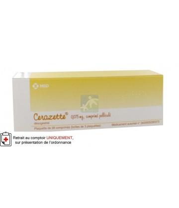 Cerazette 0,075 mg Comprimés pelliculés 3 x 28