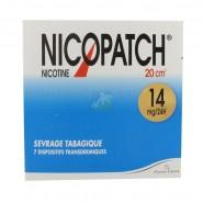 Nicopatch 14 mg/24 h x 7