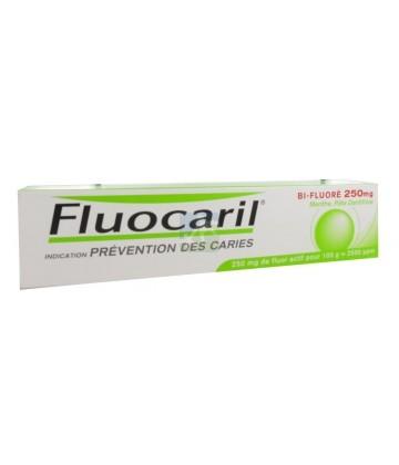 Fluocaril Bi-Fluoré 250 mg Menthe Pâte Dentifrice 125 ml