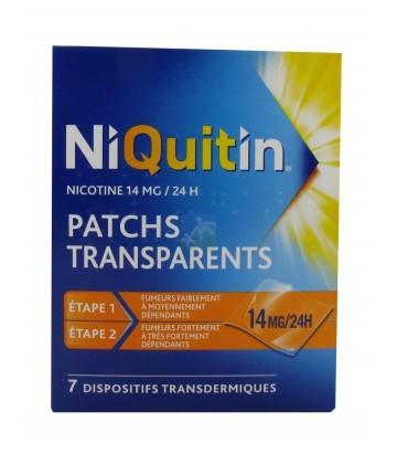 NiQuitin patchs 14 mg/24h x 7