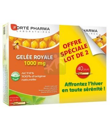 Forté Pharma Gelée Royale 1000 mg 2 x 20