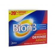 Bion 3 Défense Adultes 30 Comprimés + 7 OFFERTS