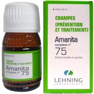 Lehning Complexe N°75 Amanita - Crampes (Prévention et Traitement)