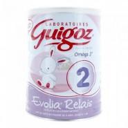 Guigoz Evolia Relais 2ème âge 800 g