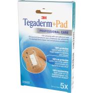 3M Tegaderm + Pad Pansements Transparents Adhésifs Stériles 5 cm x 7 cm x 5