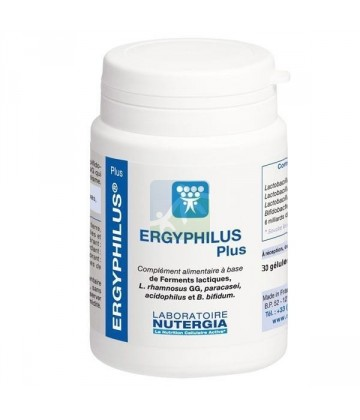 Ergyphilus Plus Digestion x30   Comparez les Prix