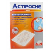 Actipoche Chaud Patchs Chauffants x 2