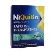 NiQuitin Patchs 21 mg/24h x 7