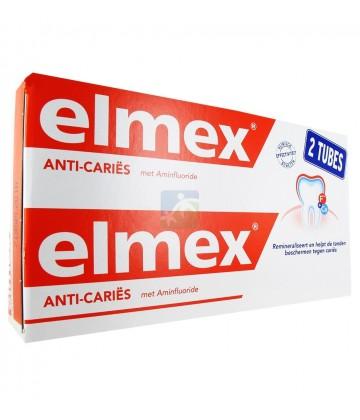 Elmex Anti-caries Dentifrice 2 x 125 ml