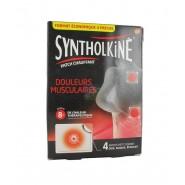 SyntholKiné Patchs Chauffants Petit Format x 4