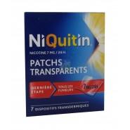 NiQuitin patchs 7 mg/24h x 7