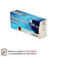 Ibuprofène Mylan 200 mg x 20