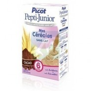 Picot Pepti Junior Mes 1ères Céréales Sans Lait Saveur Cacao 300 g