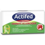 Actifed Rhinite Allergique LP x 10