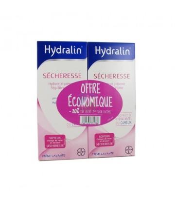Hydralin Sécheresse Soin d'hygiène intime 2 x 200 ml